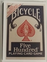 Bicycle 6 handed 500 Bicycle card Games 6 handed 500 six five hundred