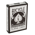 Bicycle Reversed Back Playing Cards (BLACK) 2nd Generation Deck by Magic Makers