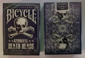Bicycle Karnival Blue Death Heads Annihilation Edition Playing Cards